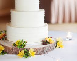 14 Rustic Wood Tree Slice Wedding Cake Base Or Cupcake Stand For Your Event And