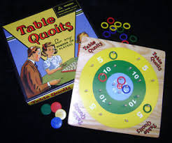 Image Is Loading NEW TABLE QUOITS WOODEN FAMILY BOARD GAME TRADITIONAL
