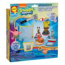 ALEX Toys Spongebob Krabby Patty Flip Game - AlexBrands.com Spongebob Kids Table And Chairs Set Themed Timothygoodman1291 Spongebobs Room Crib Bedding Squarepants Activity Amazoncom 4sea Square Pants Directors Chair Clutch Childrens Soft Slipper Slipcover Cute Spongebob Party Up Chair So I Was Walking With My Roommate To Get Flickr Toddler Bedroom Bundle Bed Toy Bin Organizer Liuyan Placemats Sea Placemat Washable Nickelodeon Squarepants Bean Bag Walmartcom Pizza Deliverytranscript Encyclopedia Spongebobia Fandom Cheap Find Deals On Line Toys Wallpaper Theme Decoration