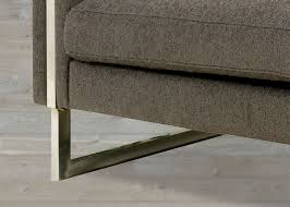 Clayton Marcus Sofa Bed by Transitional Dark Brown Fabric Chair