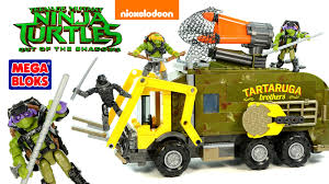 Mega Bloks Battle Truck Teenage Mutant Ninja Turtles Out Of The ... Fingerhut Teenage Mutant Ninja Turtles Micro Mutants Sweeper Ops Fire Truck To Tank With Raph Figure Out Of The Shadows Die Cast Vehicle T Nyias 2016 The Tmnt Turtle Truck Pt Tactical Donatellos Trash Toy At Mighty Ape Pop Rides Van Teenemantnjaturtles2movielunchboxpackagingbeautyshot Lego Takedown 79115 Toys Games Others On
