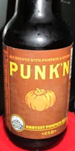 Smashed Pumpkin Beer Recipe by Punk U0027n Harvest Pumpkin Ale Uinta Brewing Company Beeradvocate