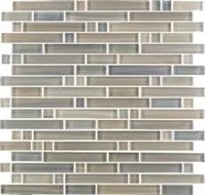 Menards Mosaic Glass Tile by Anatolia Tile Studio Sand Subway Mosaic Glass Wall Tile Common