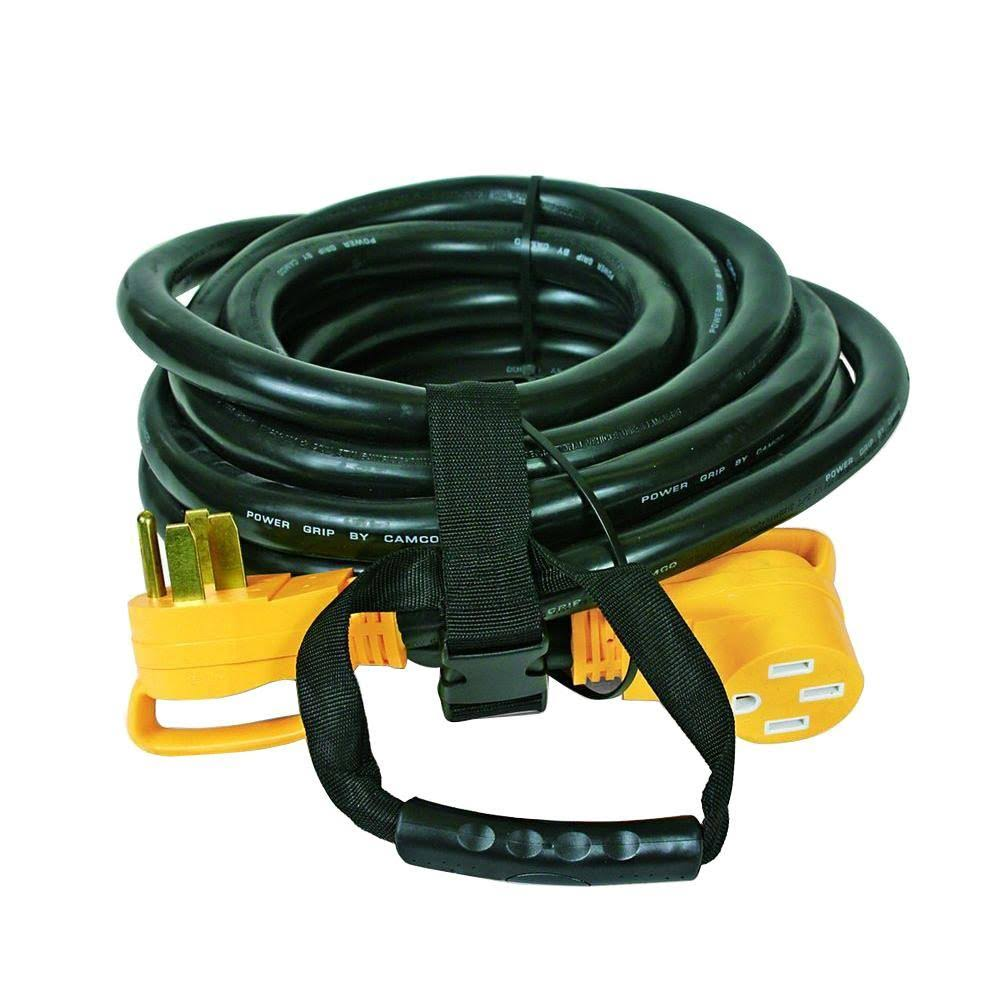 Camco Power Grip Extension Cord - 50 Amp, 30'