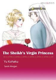 THE SHEIKHS VIRGIN PRINCESS Mills Boon Comics