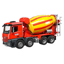 Bruder - MB Arocs Cement Mixer Truck - Red Concrete Mixer Toy Truck Ozinga Store Bruder Mx 5000 Heavy Duty Cement Missing Parts Truck Cstruction Company Mixer Mercedes Benz Bruder Scania Rseries 116 Scale 03554 New 1836114101 Man Tga City Hobbies And Toys 3554 Commercial Garbage Collection Tgs Rear Loading Mack Granite 02814 Kids Play New Ean 4001702037109 Man Tgs Mack 116th Mb Arocs By