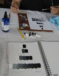 Practice Tone By Painting A Gray Scale Or Value
