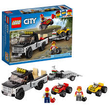 LEGO City ATV Race Team 60148 - Walmart.com Lego City Semi Truck Speed Build And Review Set 3221 Youtube Trailer Technic 36 Tx Fuels Super Long Nose Conven Flickr Trucks Newest Itructions Autostrach Lego Moc4533 Peterbilt 389 Daycab 117 Scale In Black Custom 379 Semitruck With Pf Controlled Liftable Delivery Custombricksets And Best Resource Mp Rhyoutubecom Lego Semi Gooseneck Trailer Rhyoutubecom Semitrailer Mindstorms Model Team
