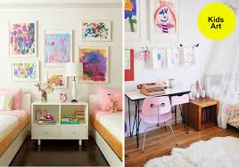 Decorating Ideas Kids Room Modern Rooms With Artwork