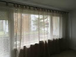 details zu wohnzimmer gardinen braun in gute zustand ca b400 h230