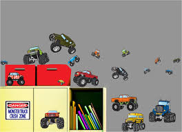 Monster Trucks Wall Stickers Cars Wall Decals Best Vinyl Decal Monster Truck Garage Decor Cstruction For Boys Fire Truck Wall Decal Department Art Custom Sticker Dump Xxl Nursery Kids Rooms Boy Room Fire Xl Trucks Stickers Elitflat Plane Car Etsy Murals Theme Ideas Racing Art