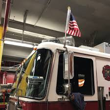 100 Truck Flag Mount Fire With US 115x15 X50 S
