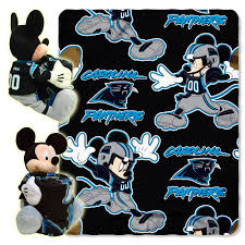 Carolina Panthers Bedroom Curtains by Choose Your Nfl Team Mickey Mouse Hugger Pillow U0026 40 X 50