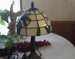 Tiffany Style Lamps Vintage by Vintage Tiffany Lamp Etsy