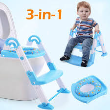 costway 3 in 1 baby potty training toilet chair seat step ladder