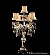 Table Lamps For Bedrooms by Best Modern Table Lamps For Bedroom Crystal Table Lamp With Fabric