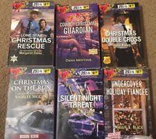 Lot Of 6 Love Inspired Suspense Books