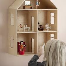 Wooden Pottery Barn Doll House — Crustpizza Decor Pottery Barn