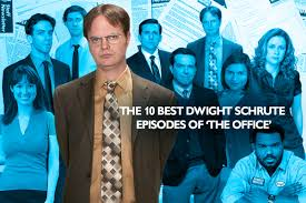 Dwight Schrute Pumpkin Gif by Halloween Office Episodes
