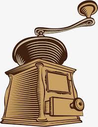 Yellow Retro Espresso Machine Coffee PNG Image And Clipart