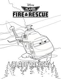 Disneys Planes Fire And Rescue Coloring Sheets Character