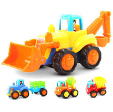 100 Types Of Construction Trucks Early Education 1 Year Olds Baby Toy Push And Go Friction Powered