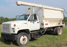 1992 GMC TopKick Feed Delivery Truck | Item J2025 | SOLD! Se... Home Kk Enterprises Ltd Garys Auto Sales Sneads Ferry Nc New Used Cars Trucks Walinga Best Buy Motors Serving Signal Hill Ca Truckland Spokane Wa Service Bt40c Blower Truck Products Peterson G300 Series Flour Feed Bulk For Sale Truckfeed 2015 Gmc Sierra 1500 Sle 4x4 In Hagerstown Md Browse Our Bulk Feed Trucks Trailers For Sale Ledwell Hensley Trailers