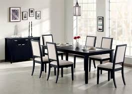 Unique Round Black Dining Table Stylish Design For Room