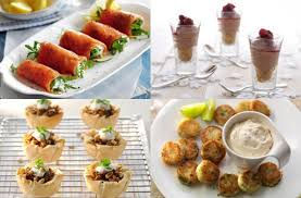 easy cheap canapes bacon and egg canapés recipe guests bacon and egg