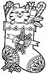 Hard Pretty Christmas Coloring Pages Free
