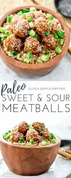 Paleo Sweet And Sour Meatballs The Perfect Quick Easy Weeknight Recipe That Everyone In