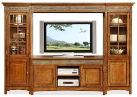 Wayne Tile Co Spring Street Ramsey Nj by Riverside Furniture Craftsman Home 6 Door Entertainment Wall Unit