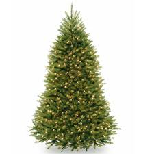 Unlit Artificial Christmas Trees Walmart by Home Accents Holiday 7 5 Ft Unlit Wesley Mixed Spruce Artificial
