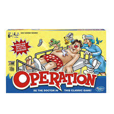 Operation The Board Game Hasbro 2014