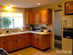 Before After Sunny Kitchen Makeover