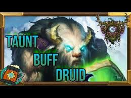 hearthstone deck tech scarab buff taunt druid knights of the