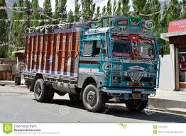 Indian Decorated Truck Editorial Stock Photo. Image Of Window - 27047753