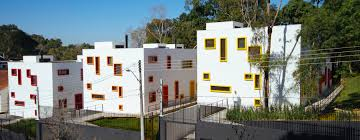 100 Cubic House Aleph Zeros Cubic Houses In Brazil Have Colorful Window Frames