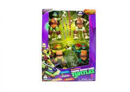 100 Teenage Mutant Ninja Turtle Monster Truck Action Figures Exclusive 4pack Toy Triangle