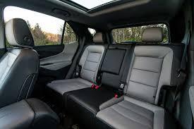 Chevrolet Equinox Rear Interior Seats Motor Trend Traverse