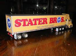 100 Tonkin Trucks Stater Bros Track And Trailer 153 Scale Collectors Weekly