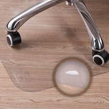 tapis de sol transparent pour bureau my sit 120 x 120 cm tapis de sol tapis protège sol pour chaise de