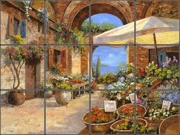 11 best italian mural backsplashes for kitchen remodeling ideas