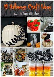 Dryer Vent Pumpkins by Halloween Craft Ideas For Kids