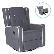Mid-Century Modern Upholstered Swivel Recliner Lounge Rocking Chair ... Whosale Rocking Chair Living Room Fniture Yashiya Midcentury Retro Modern Grey Fabric Upholstered Cheap Find Nursery Ideas Home Decor Whole Rocking Chairs Living Room Fniture Light Beige Upholstered Design Wooden Chair With Thick Seat And Back Cushions Chairs Thrghout Baxton Studio Maggie Midcentury Agatha Amazoncom Balen Mid Century Iona Amusing Round With Comfy Seat Look As