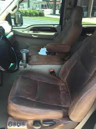 Swapped 2006 King Ranch interior into my 2001 Ford Powerstroke