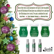 Miss That True Pine Scent From Your Artificial Christmas Tree I Can Help Iced Winter Snowy Spruce Scentsy Waxmaam