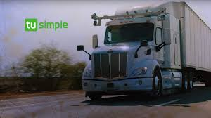 100 Safest Truck TuSimple Building SelfDriving With 1000 Meter
