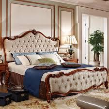 schlafzimmer möbel im amerikanischen stil mit rotem massivholz bett aus echtem leder buy amerikanische schlafzimmer möbel set rot echtem leder