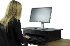 Standing Desk Conversion Kit by Stand Up Desk Conversion Kit Hostgarcia